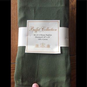 🍎12 brand new cloth napkins